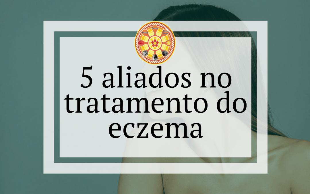 5 aliados no tratamento do eczema