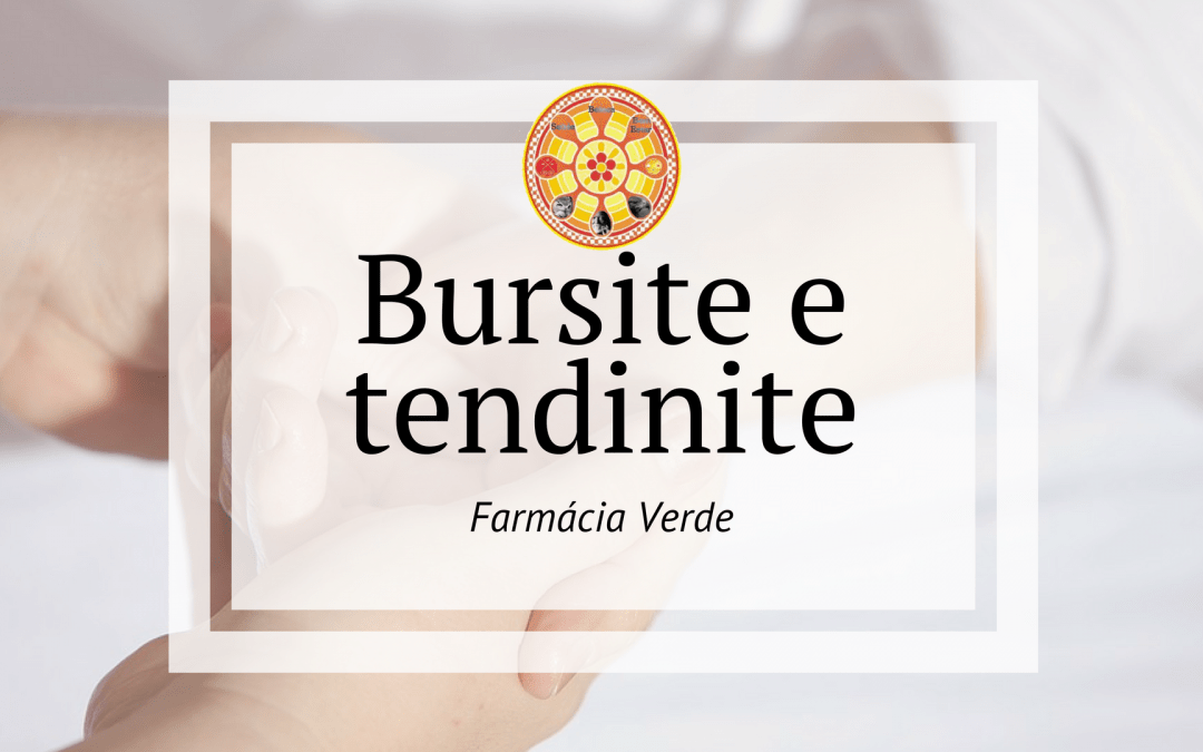 Bursite e tendinite – Farmácia Verde