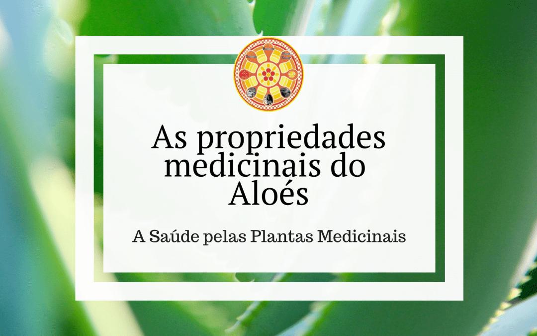As propriedades medicinais do Aloés