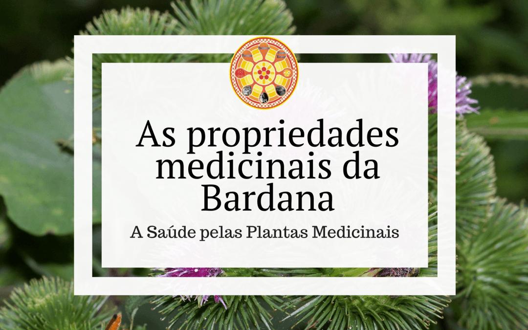 As propriedades medicinais da Bardana