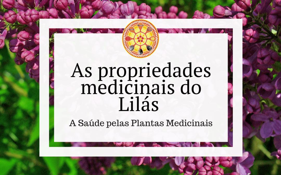As propriedades medicinais do Lilás