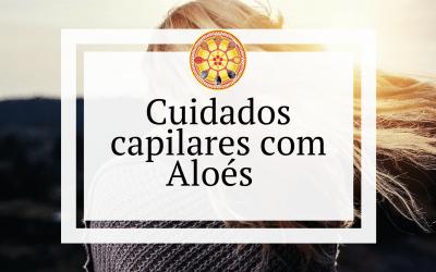 Cuidados capilares com Aloés
